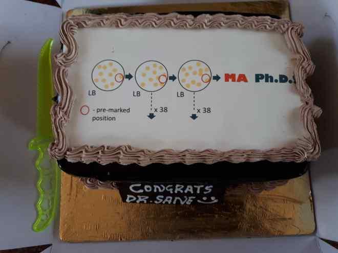 Mrudula's cake